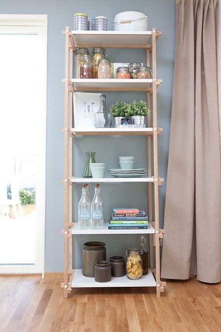 Estilo escandinavo en azul grisáceo y madera natural - Estilo nórdico | Blog decoración | Muebles diseño | Interiores | Recetas - Delikatissen