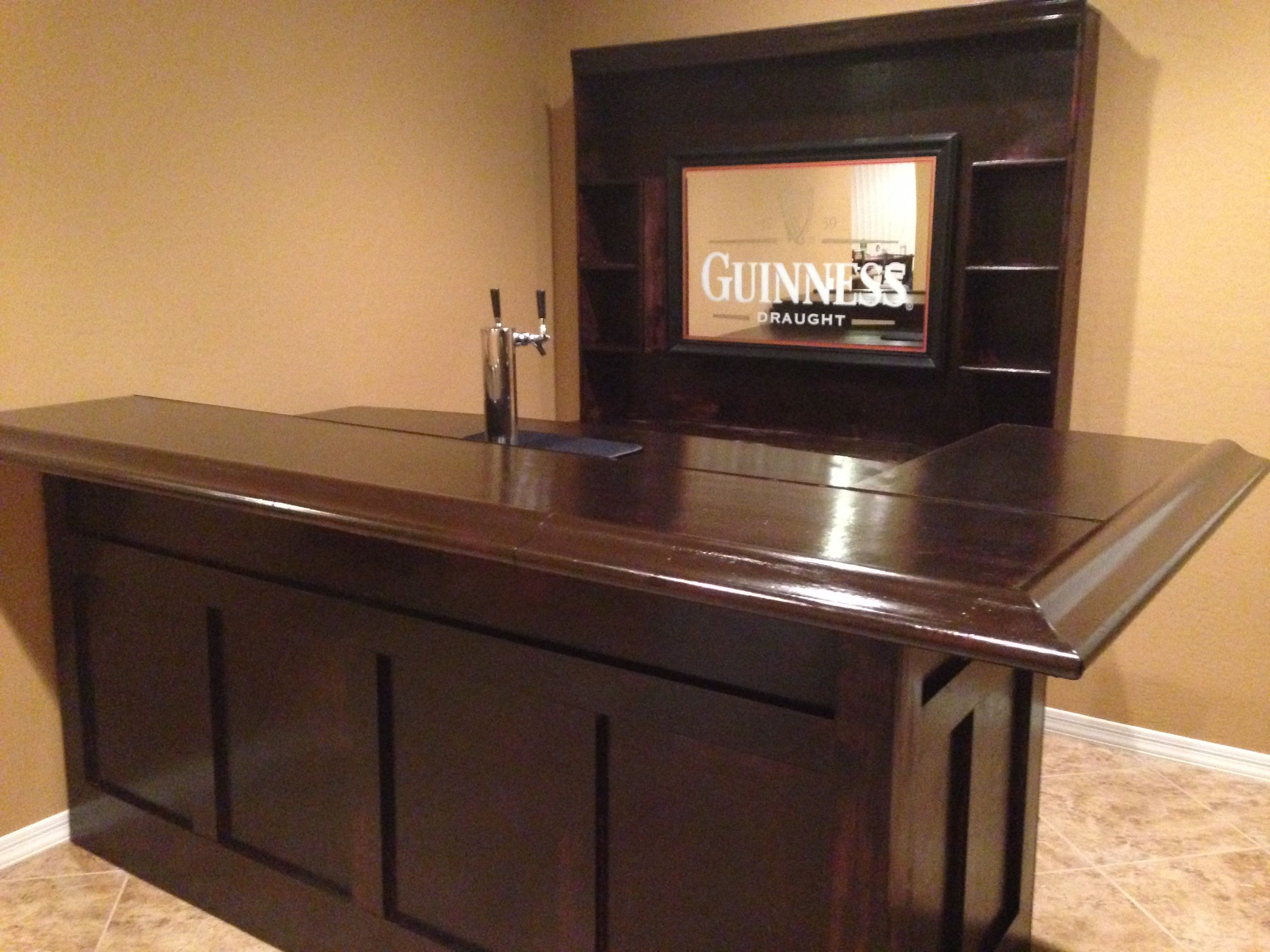 Superieur I Really Like What Matt Did For The Back Bar. Home Bar DesignsBuild ...
