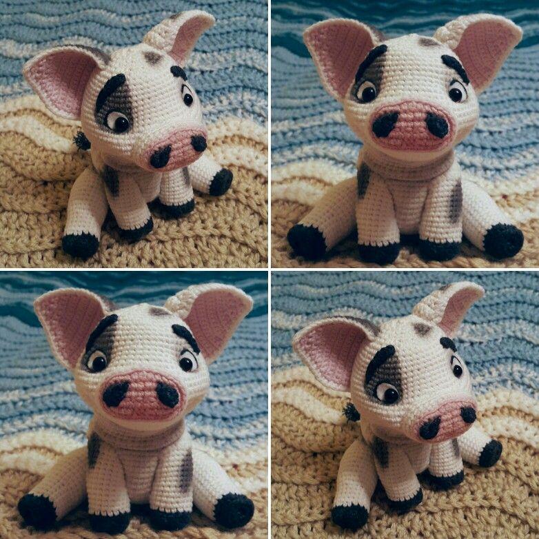 Amigurumi Pig - A Free Crochet Pattern - Grace and Yarn | 782x782