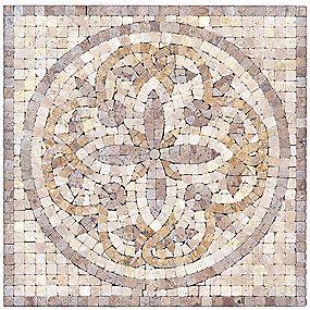Decorative Travertine Tile Camden Travertine Deco 12 X 12 In#thetileshop  Tile Decorative