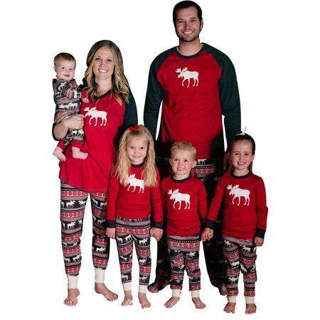 Free Shipping. Buy ZXZY Matching Family Pajamas Sets Christmas ...