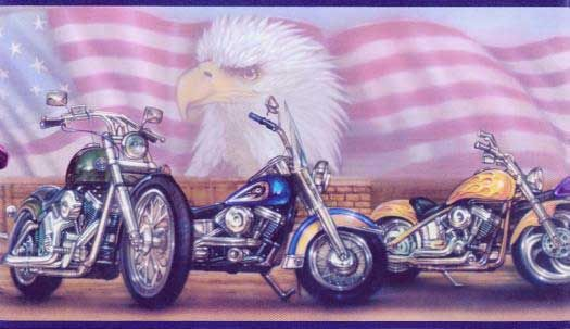 Motorcycle Borders Light Baby Angel Wallpaper Border Wallpaper