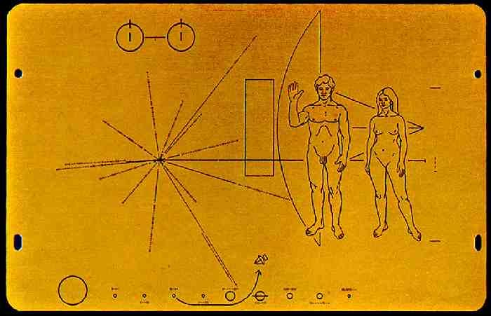 "the golden record images -Famous ""Voyager 1"" spacecraft was ..."