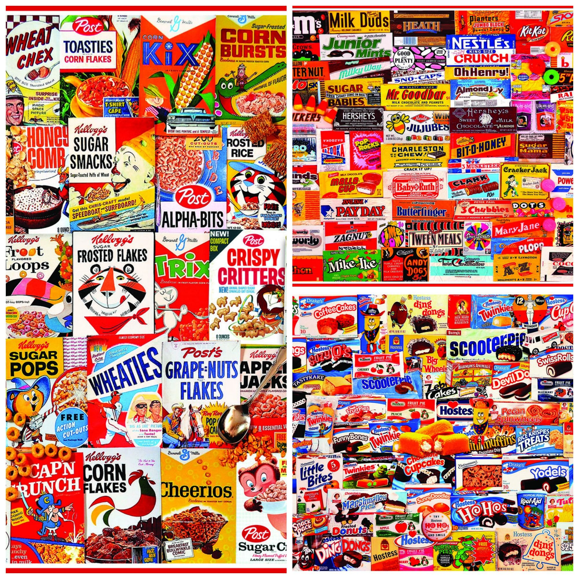 Great Collage Jigsaw Puzzles By White Mountain Puzzles