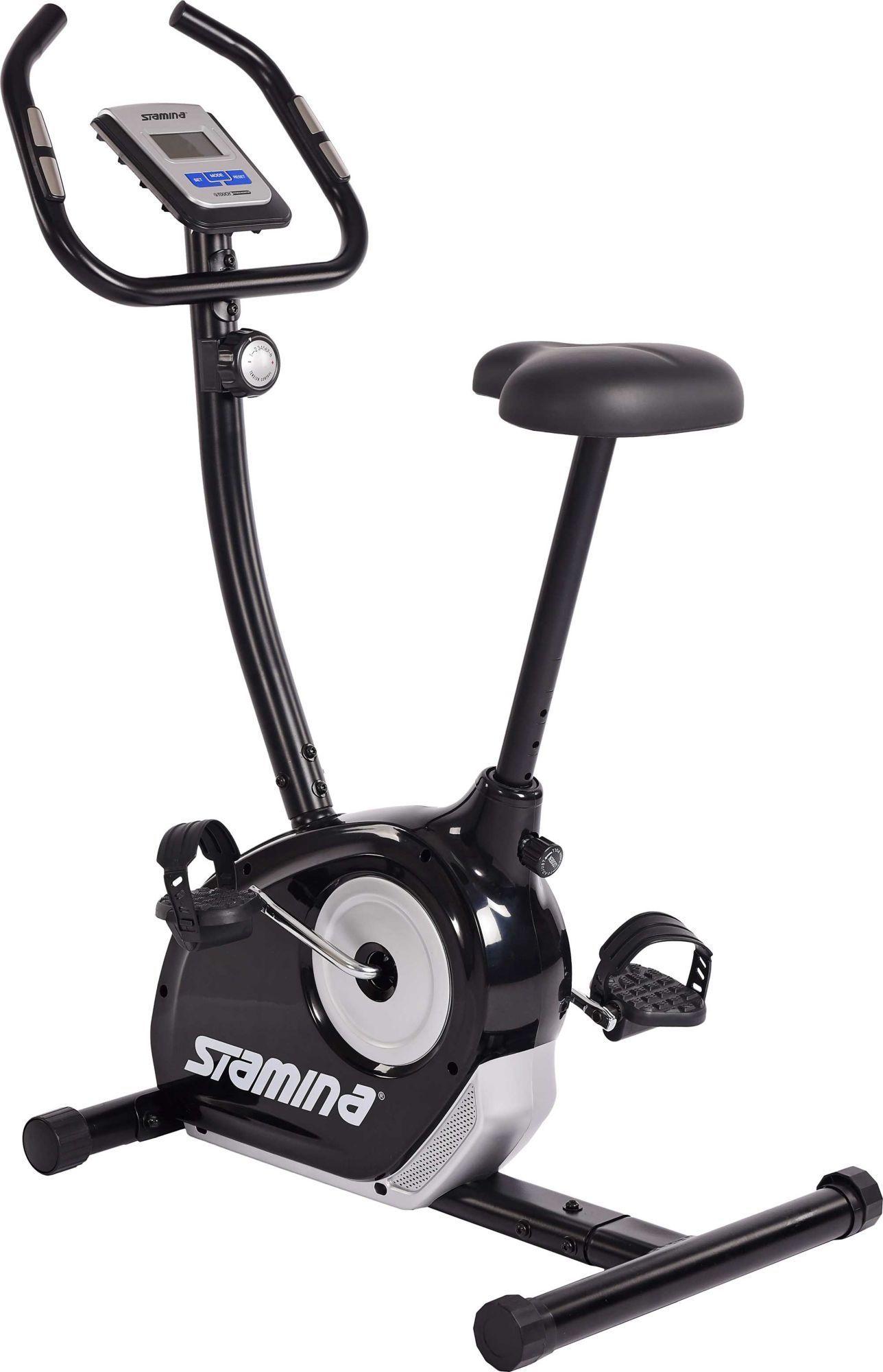 Stamina Magnetic Upright Exercise Bike Size Large In 2020 Upright Exercise Bike Biking Workout Exercise Bike Reviews