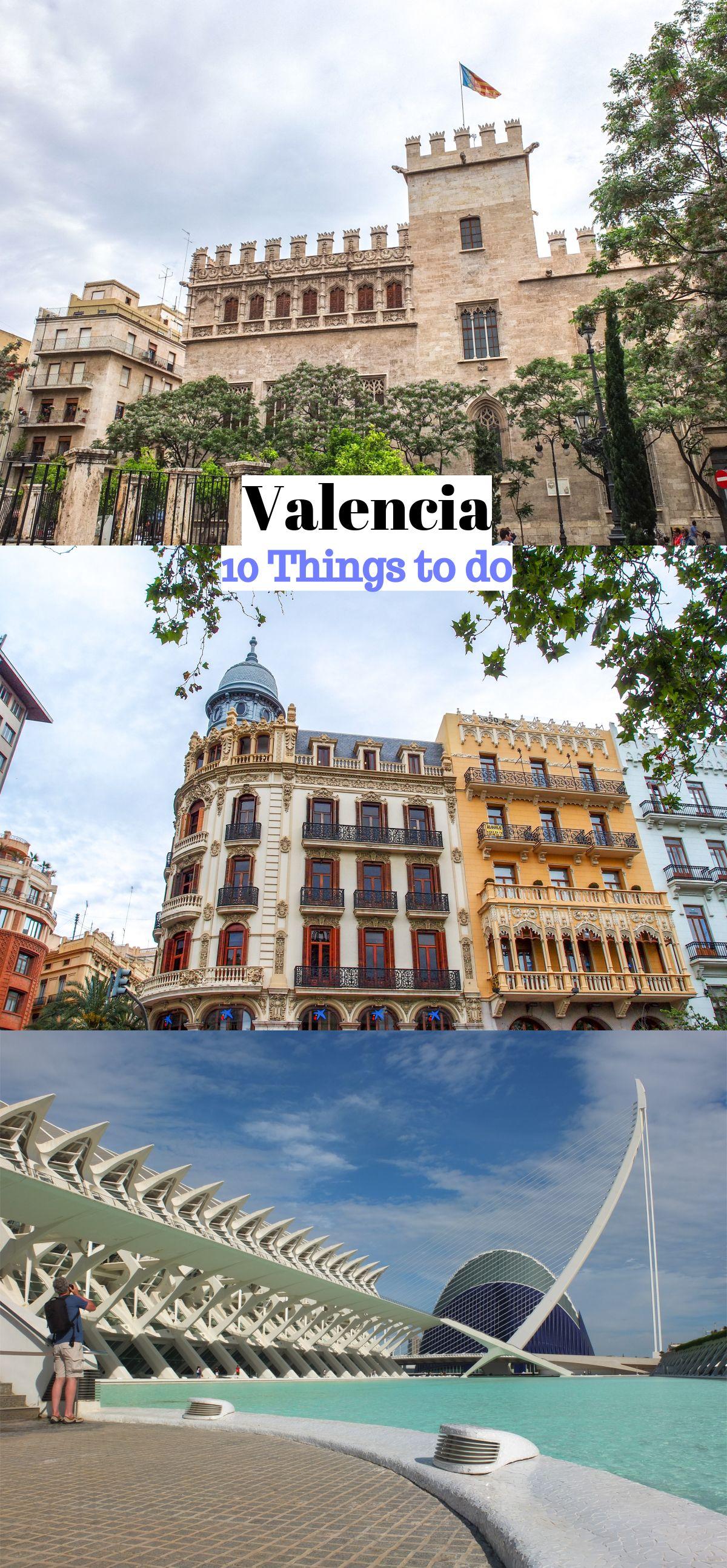 Valencia 10 Bezienswaardigheden Reisideeën
