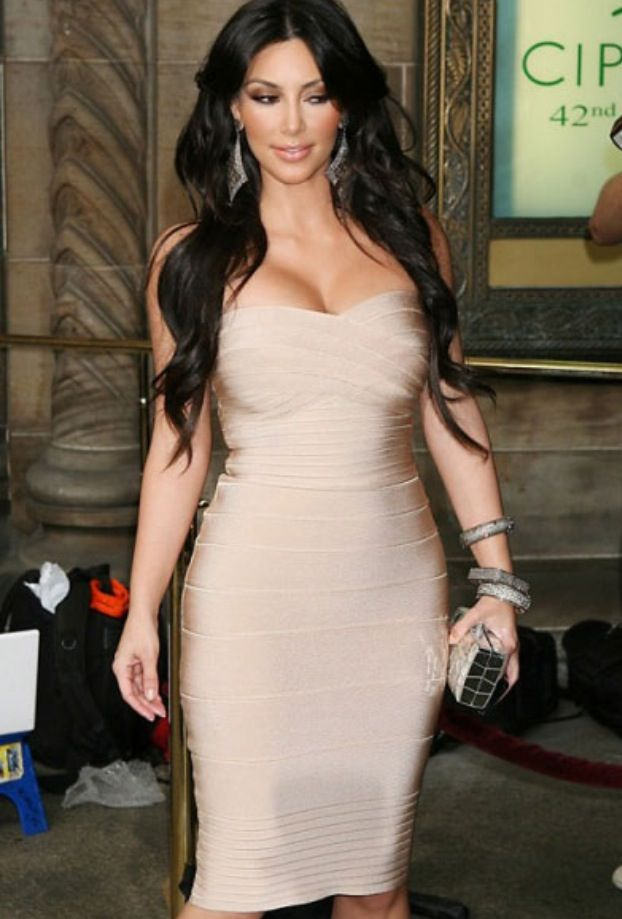 Kim Kardashian Bodycon Bandage Dress