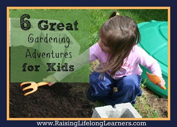 Summer Gardening with Kids