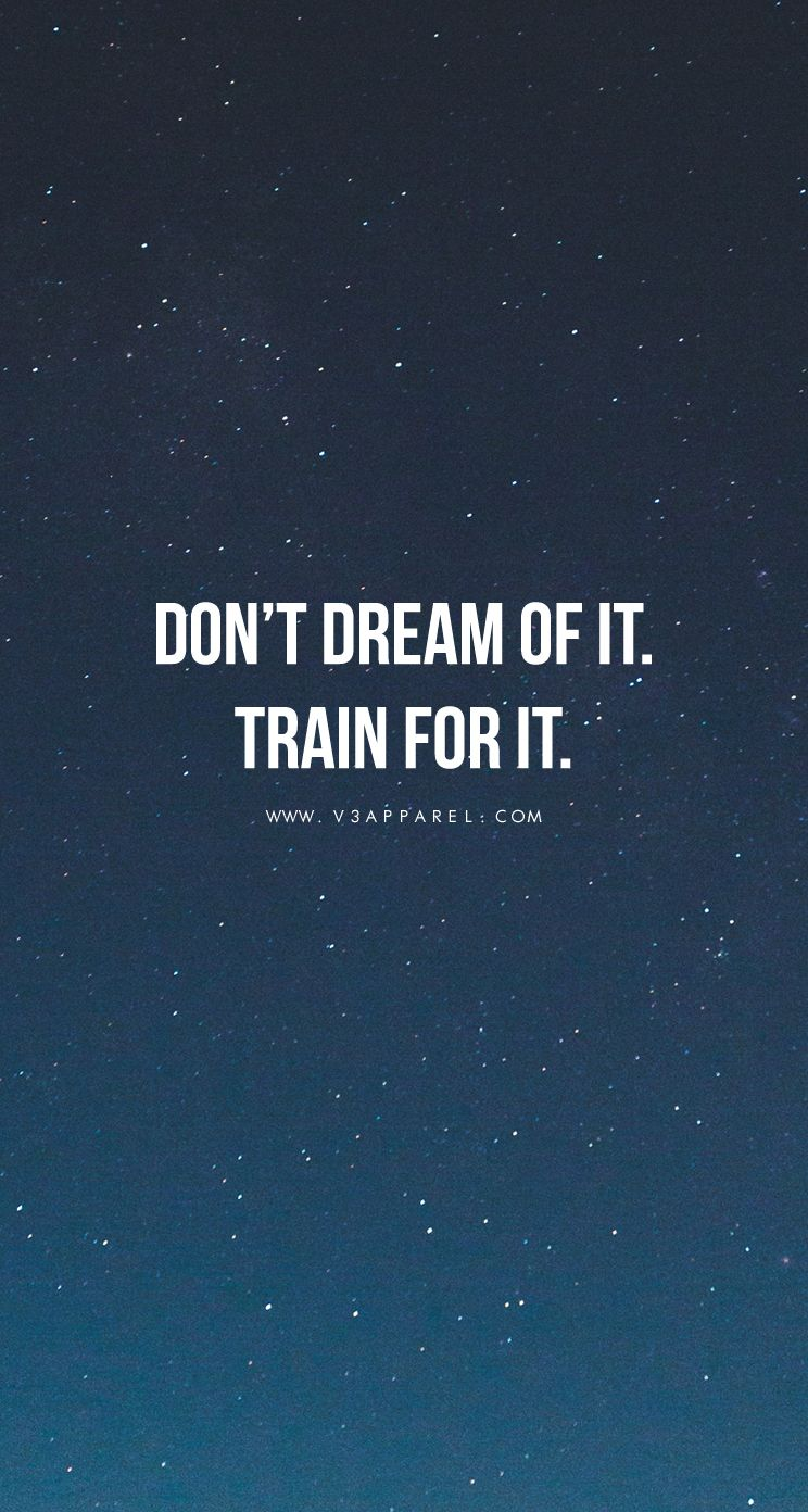 Train For It. | Motivational Quotes