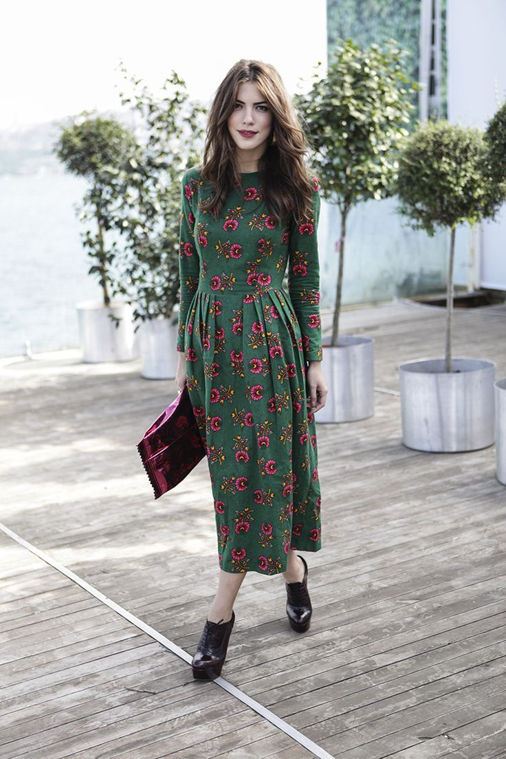 5 Dresses to Wear in Fall | Midi dresses, Floral and Heel ...