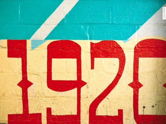 Coney island painted wall numbers