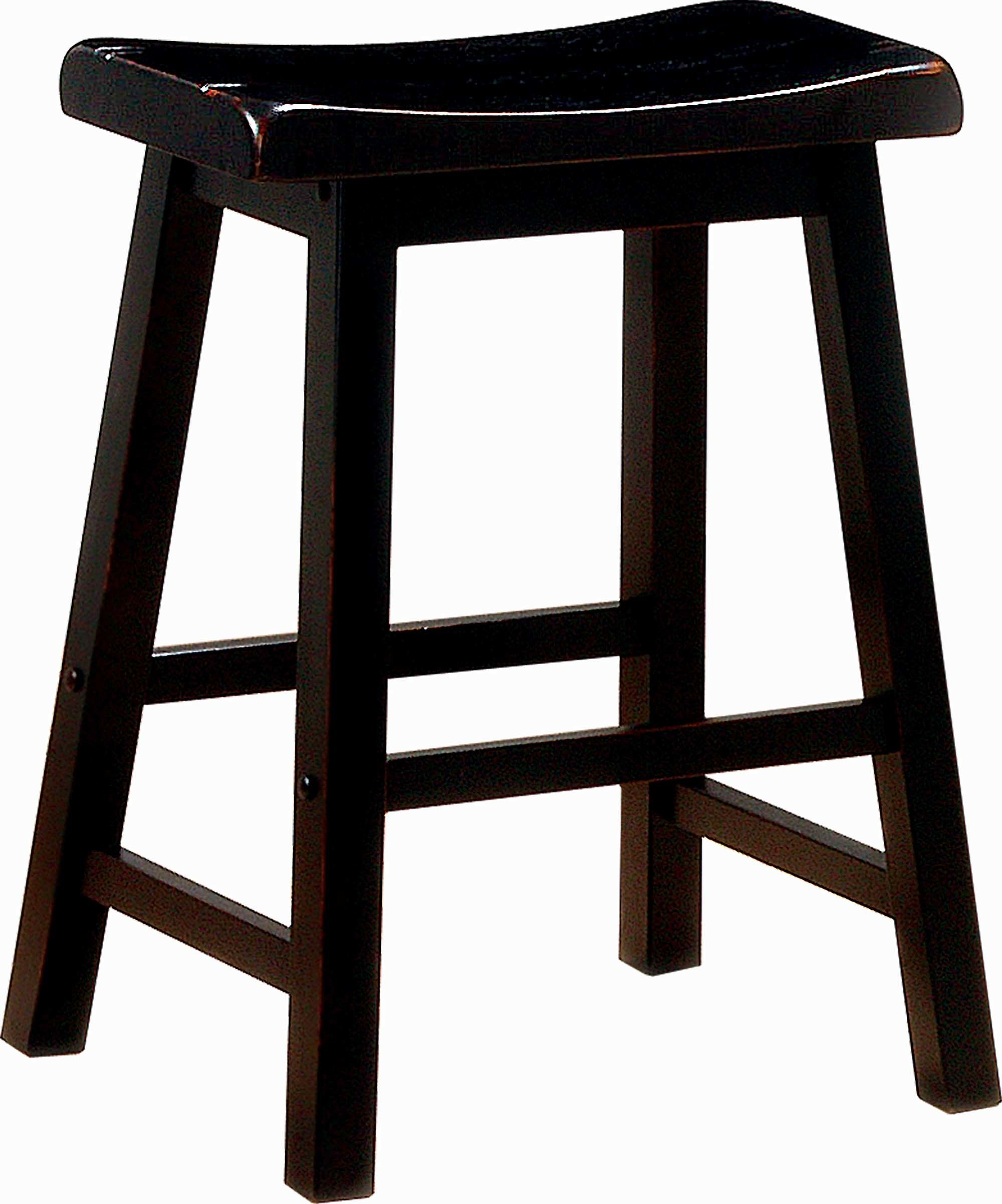 Coaster Cs019 Transitional Black Counter Height Stool Bar Stools