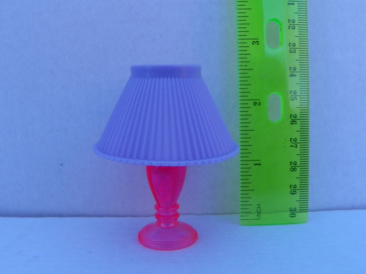 Vintage 1 6 1 6 Scale Barbie Lamp Barbie Dollhouse Furniture Lamp Dollhouse Furniture Fixture Table