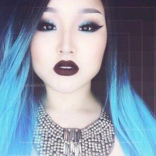 Simplemente… muy… bonita. | Estas pelucas con los colores del arco iris demuestran que el pelo artificial es bonito