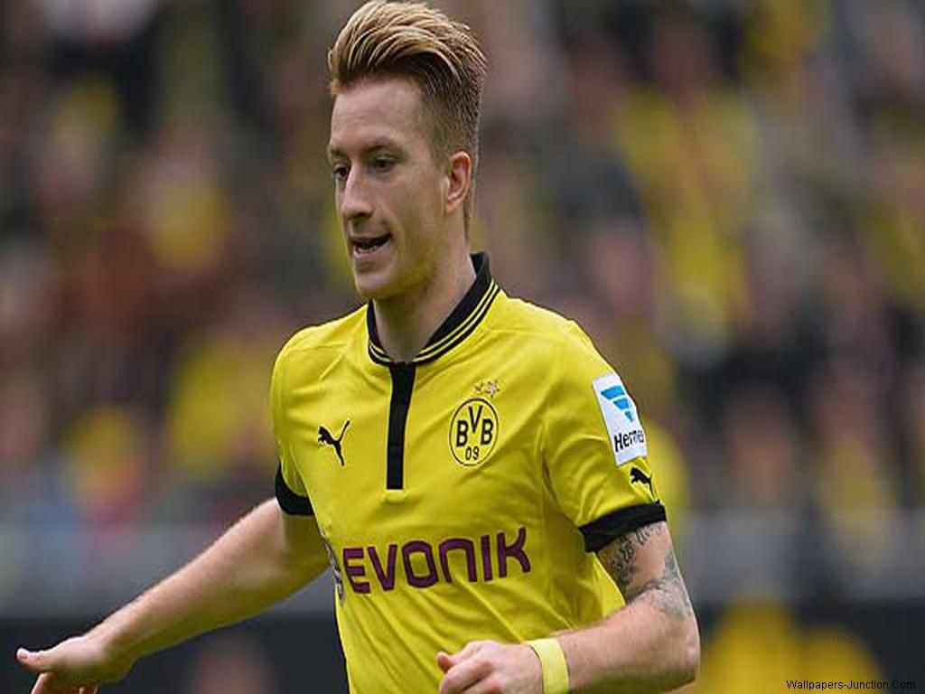 Marco Reus Hairstyle Name Borussia Dortmund Stock Photos And Pictures Getty Images 650960