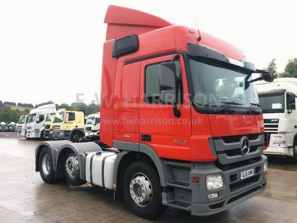Mercedes Actros Mp3 2546 Commercial Vehicle Mercedes Benz Trucks Volvo Trucks