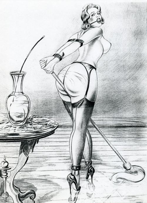 Art comic erotic man