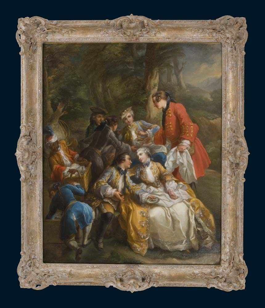Loo, Charles André van. 1705 Nizza - 1765 Paris