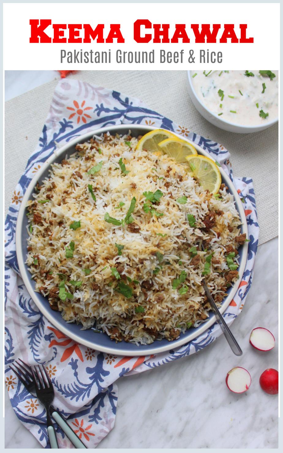 Keema Chawal Pakistani Recipe Ground Beef Rice Pilaf So Kid Friendly Flour Spice Recipe In 2020 Pakistani Rice Recipes Pakistani Food Indian Rice Recipes