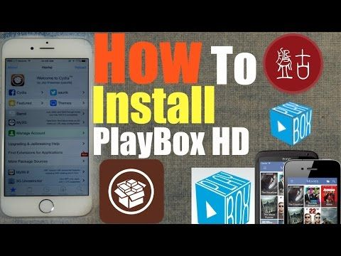 iOS 9 2-9 3 3: How To Install (PlayBox HD) Watch+Download