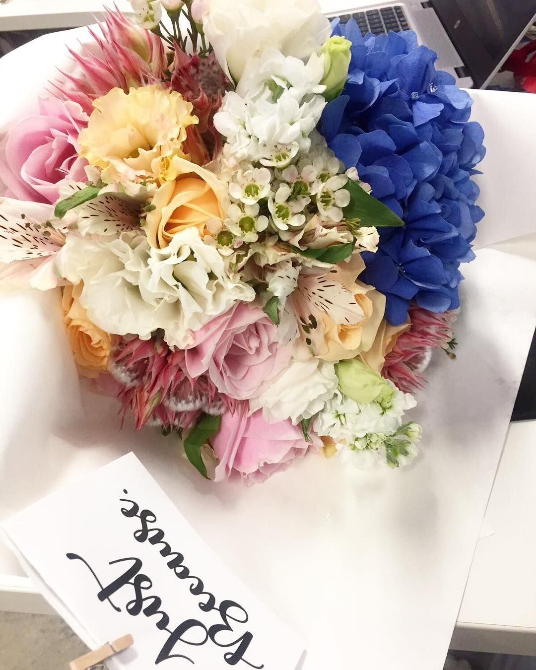 We love it when you send us your photos of your bouquets heres one sweet guys izmirmasajfo Gallery