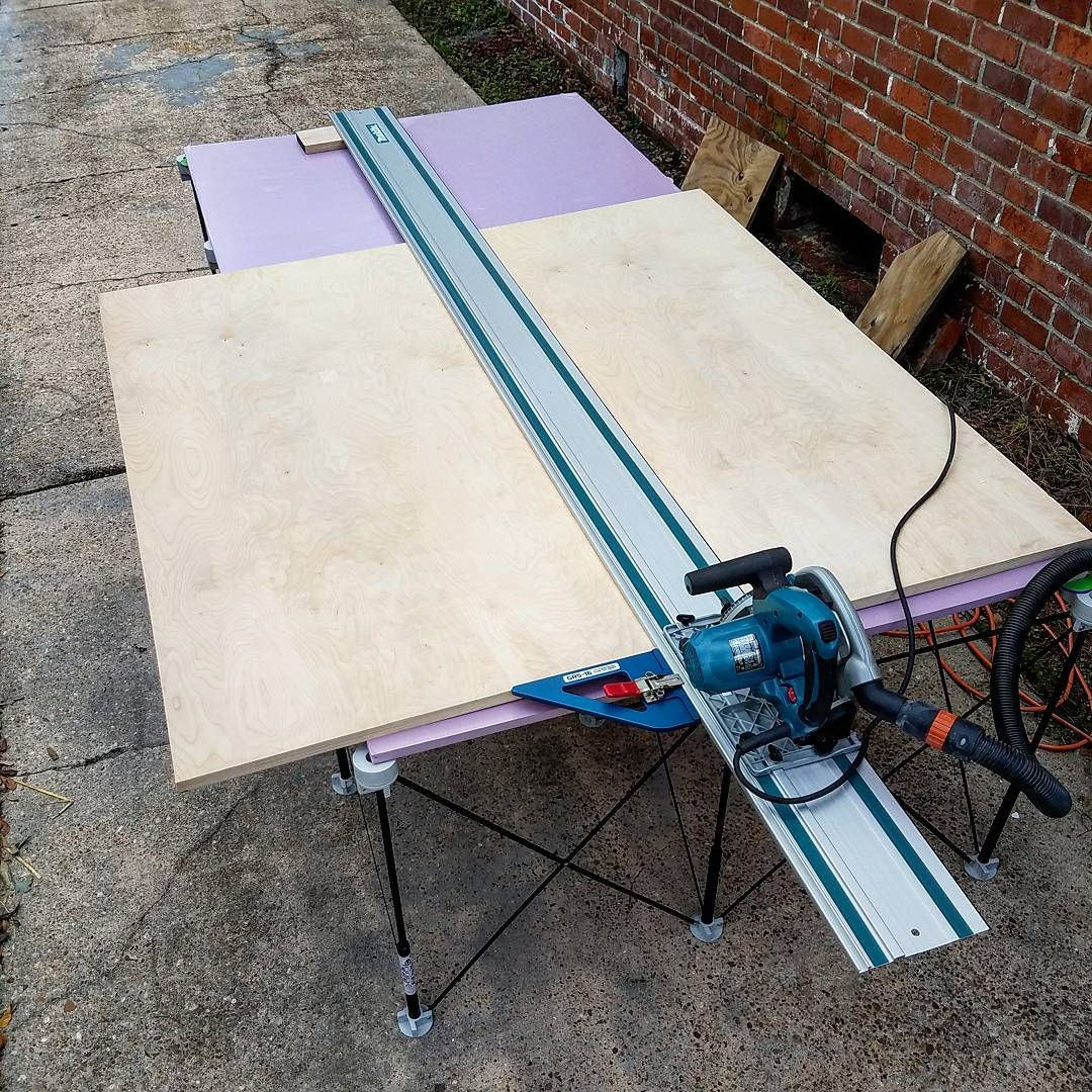 Bricoleur Design Jaxused The Makita 116 Track And The Grs 16 For The First Time Today Aaaamazing Wood Is 5 X5 1 Inch Th Makita Tools Tools And Toys Makita