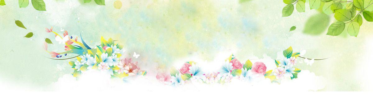 ألوان مائية فن زهري تصميم الخلفية Flower Background Images Spring Background Creative Posters