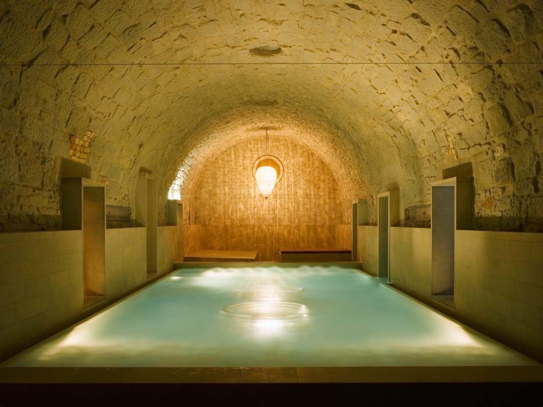 An old brewery transformed to a bathing sanctuary http://www.morfae.com/an-old-brewery-transformed-to-a-bathing-sanctuary/