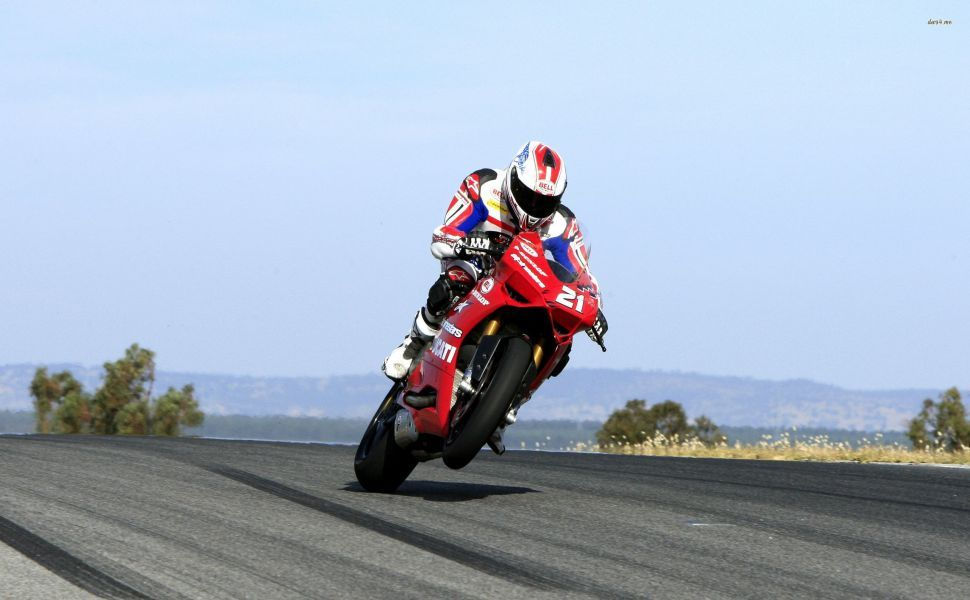 Troy Bayliss on Ducati 1199 HD Wallpaper | Wallpapers ...