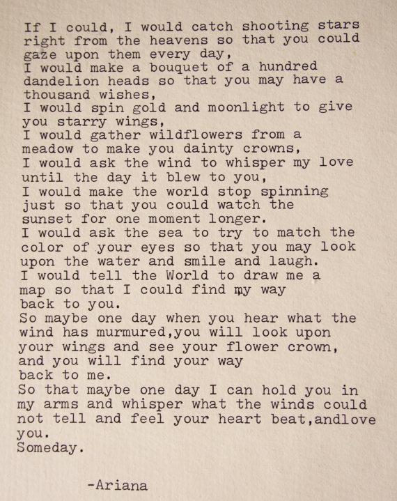 Romantic letter best poem erotic love