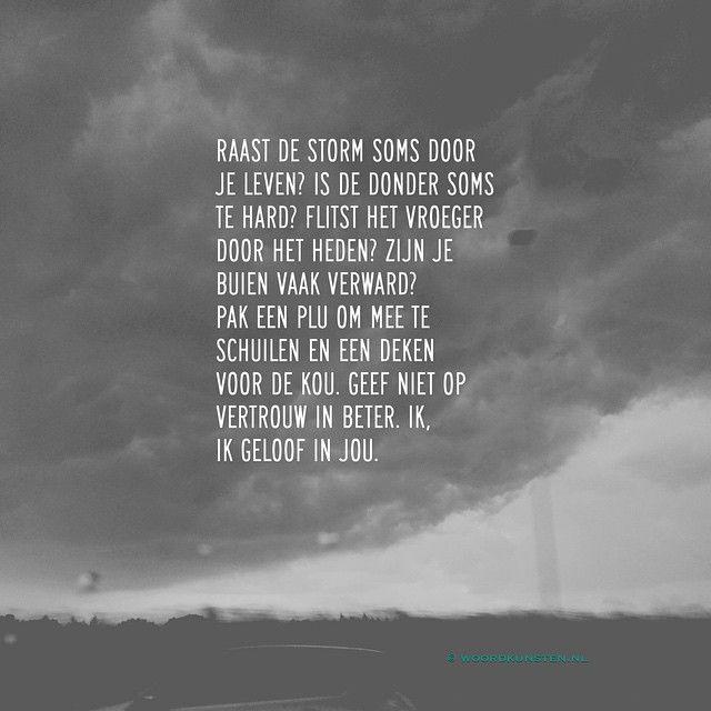 Gedicht de storm