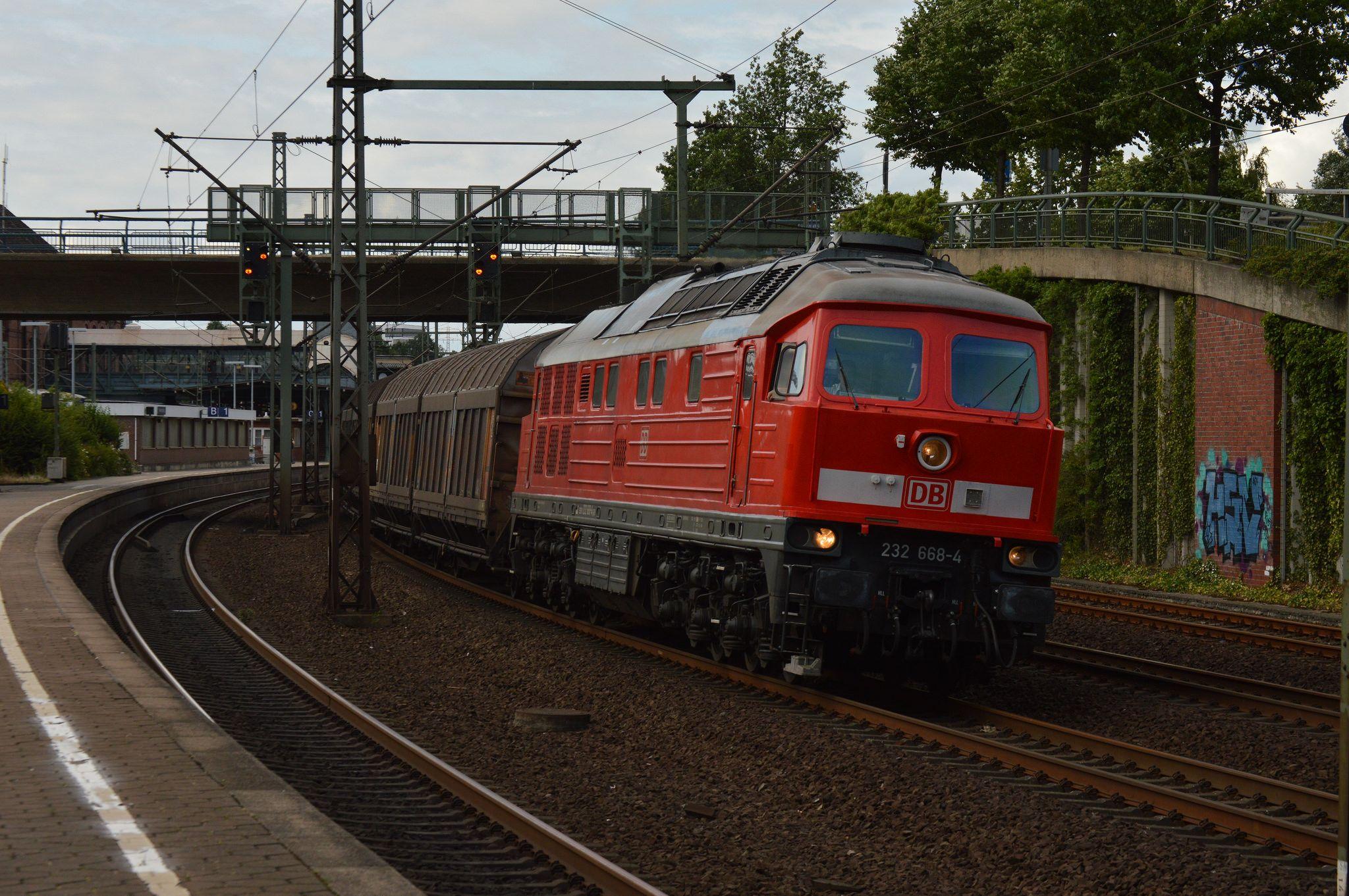 232 668 HamburgHarburg železnice a železniční doprava