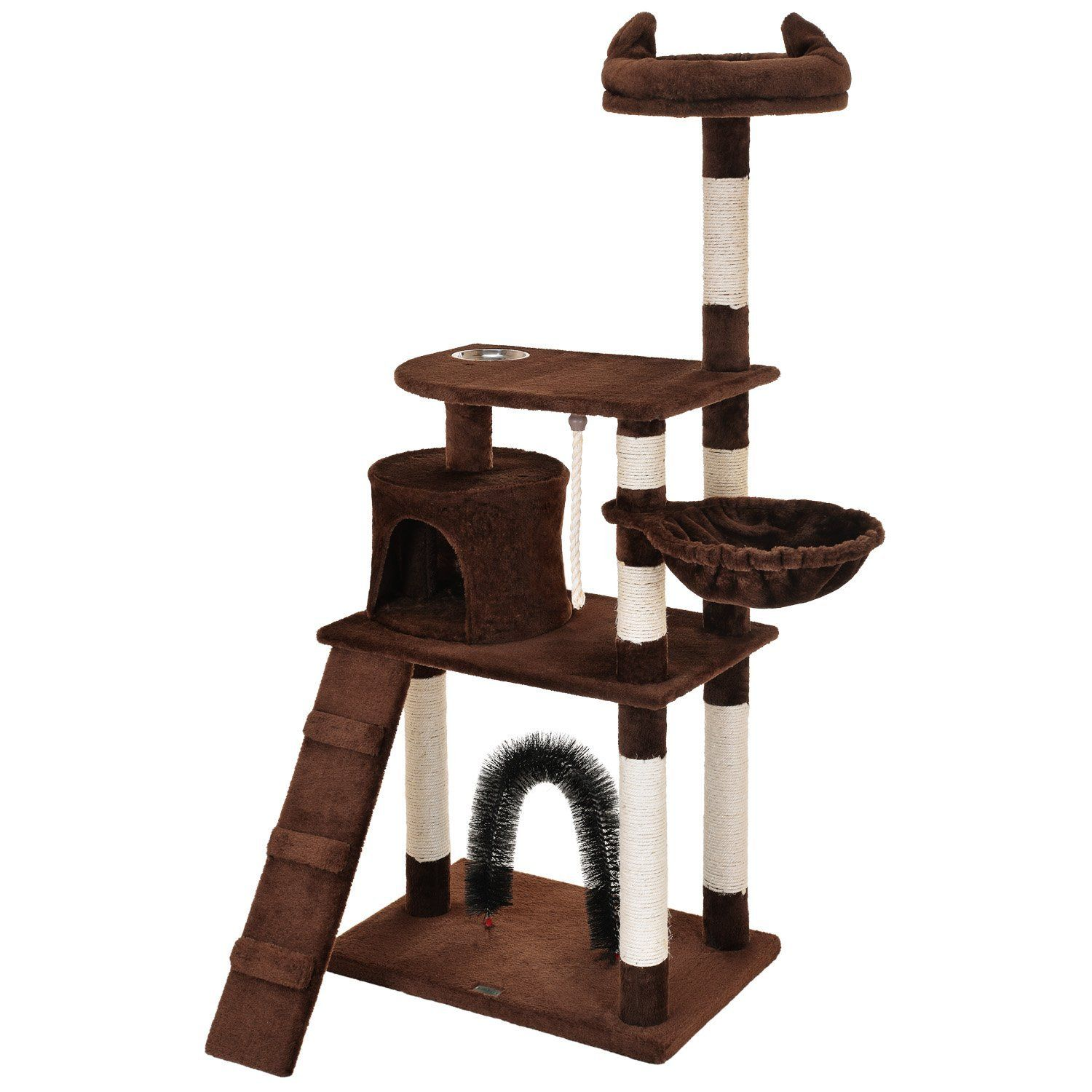 Ollieroo Cat Tree Furniture Tower Climbling Activity Tree Scratcher Play