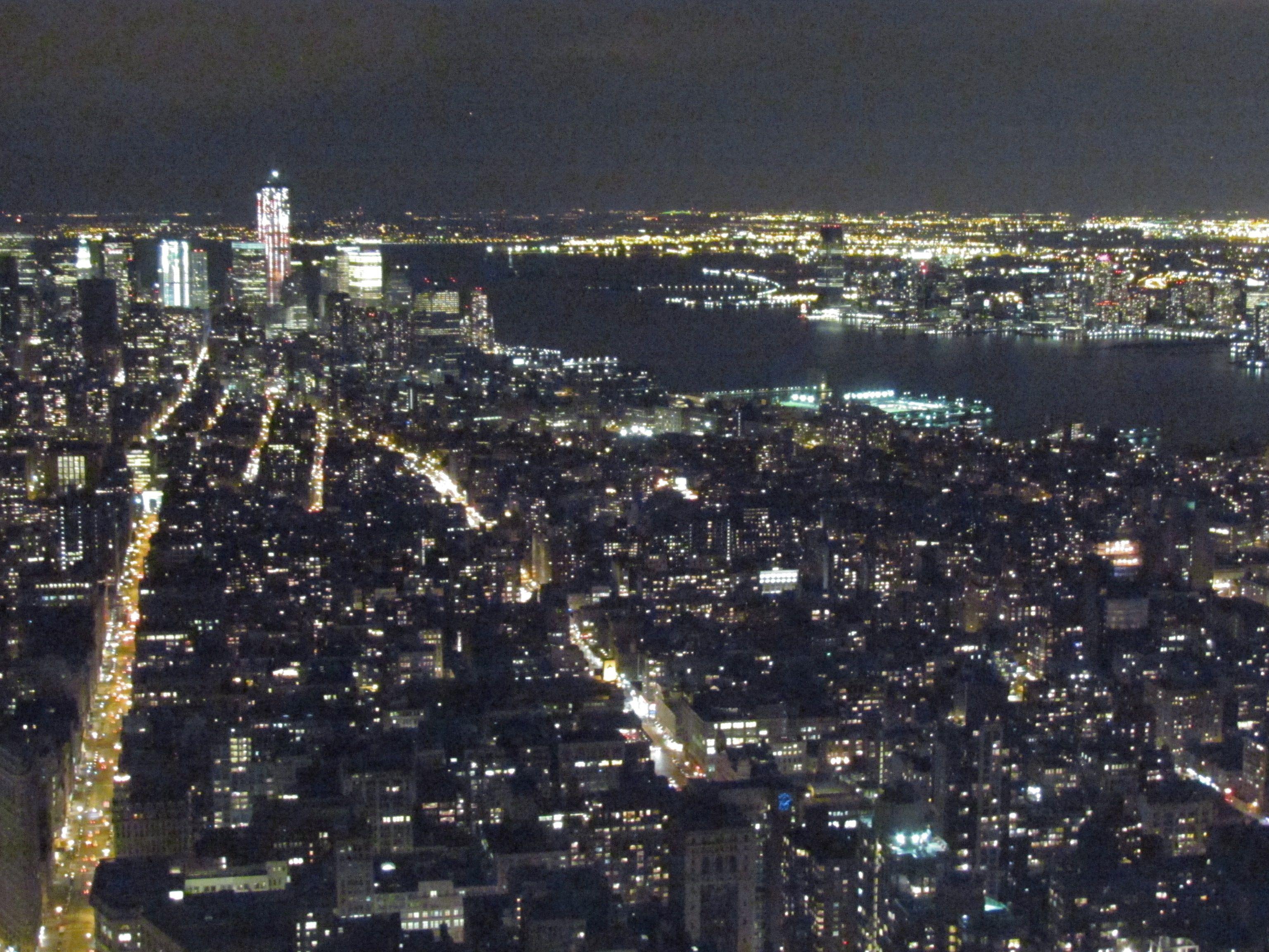 NYC by night.