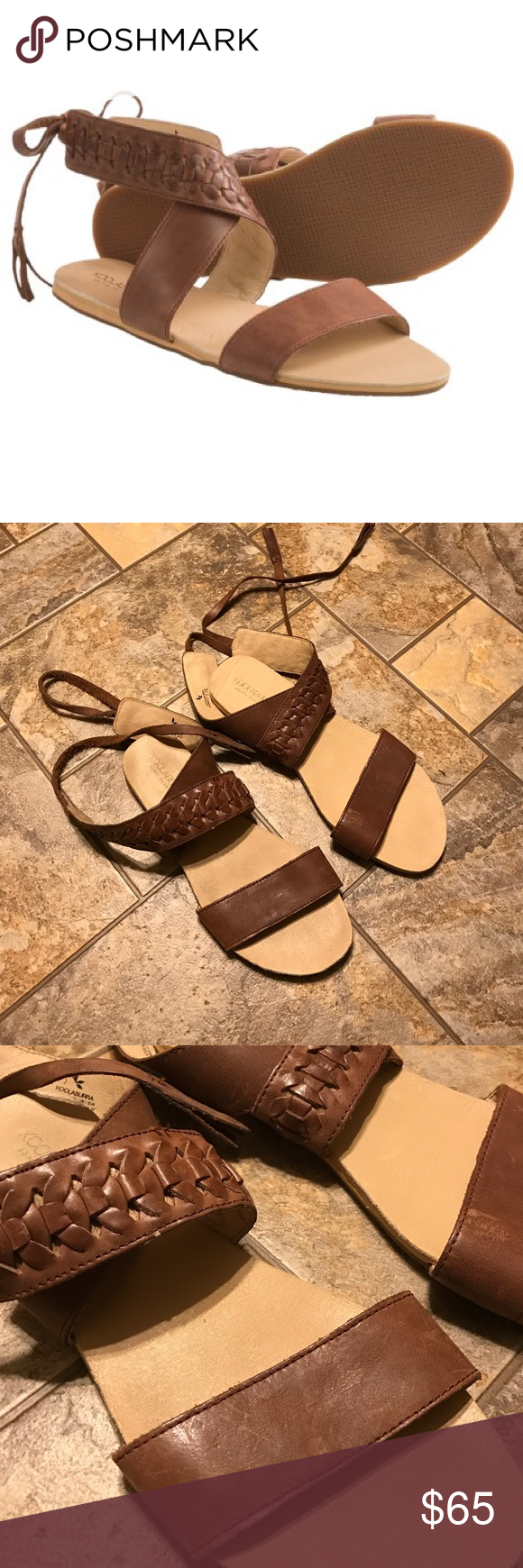 0f48c561818 Kookaburra leather sandals! Urban Outfitters! Gorgeous brown leather ...