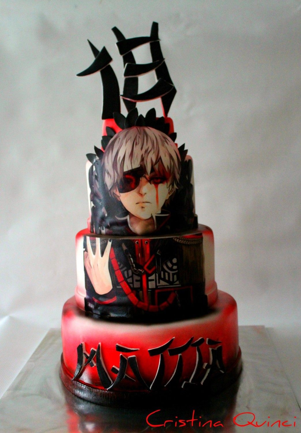 Anime cake by Cristina Quinci (With images) Anime cake