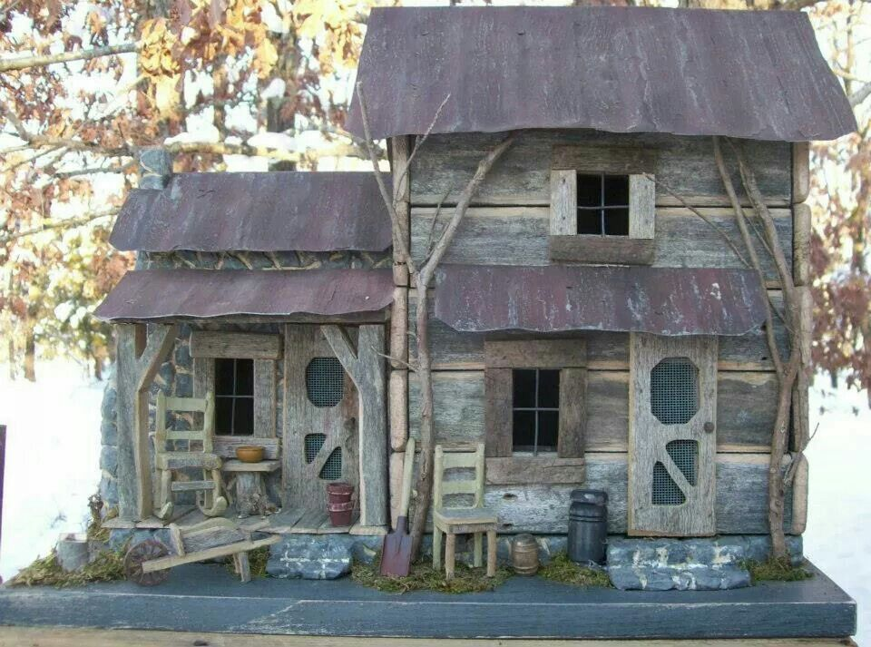 Log Cabin Handmade By Robert Neel
