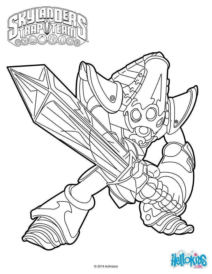Krypt King Coloring Page Cole