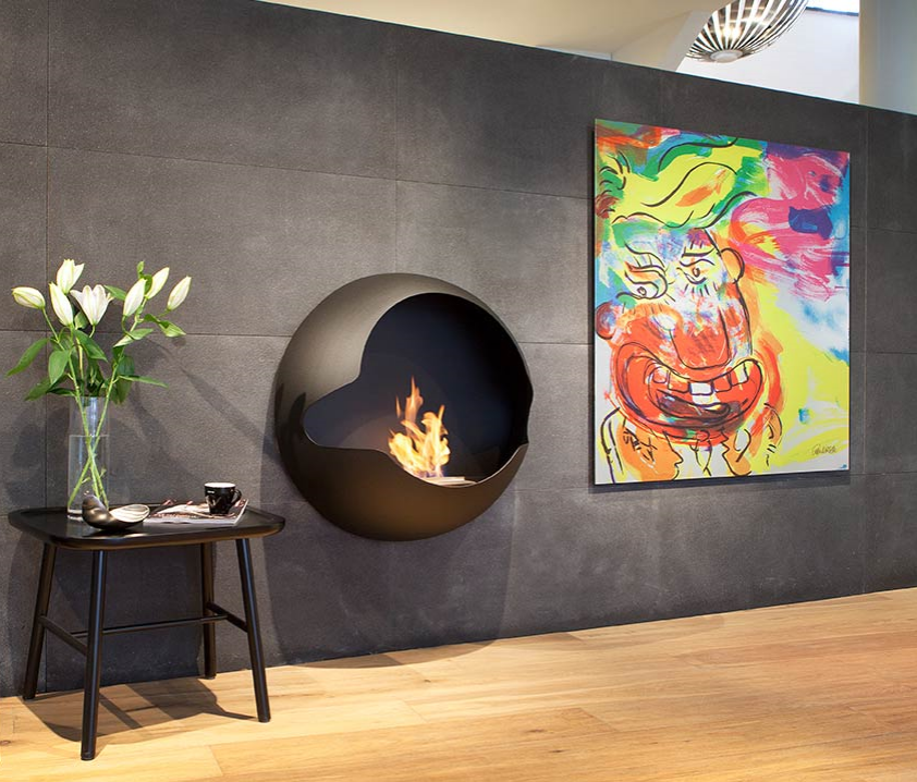 Cheminee Bio Ethanol 2500 Modern Fireplace Fireplace Design Wall Mounted Fireplace
