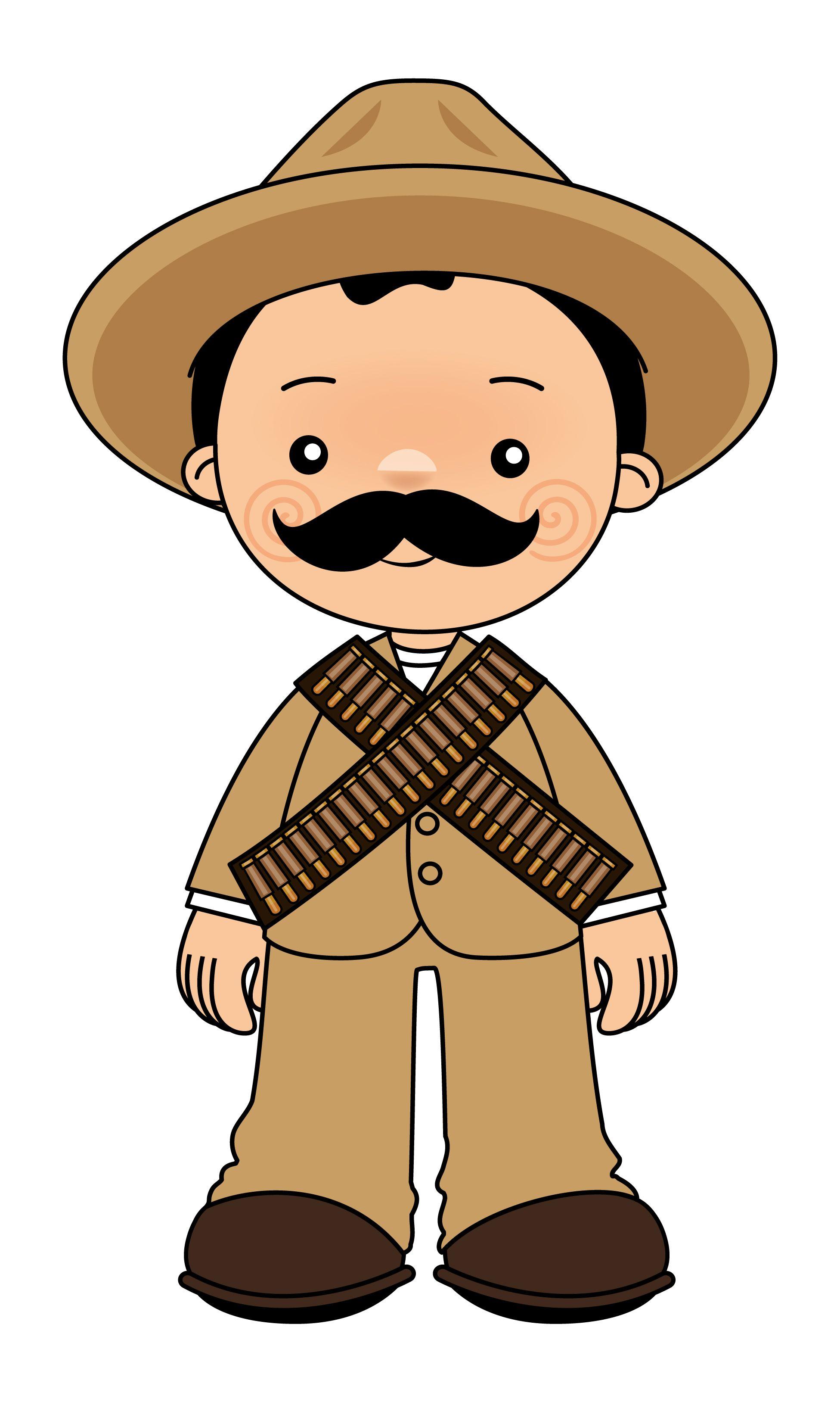 Pancho Villa 2 Revolucion Mexicana Para Ninos Revolucion Mexicana Dibujos Revolucion Mexicana Para Colorear