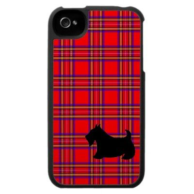 Scottish Terrier iPhone Case from Zazzle.com