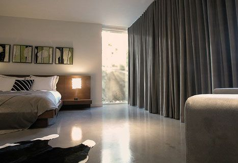 Wall Of Drapery Curtains To Cover Walls Modern Bedroom