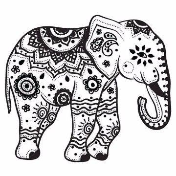 Dibujos De Elefantes Para Ninos A Lapiz Para Imprimir Dibujos De