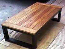 Bancas de madera modernas buscar con google jard n for Bancas para jardin de madera