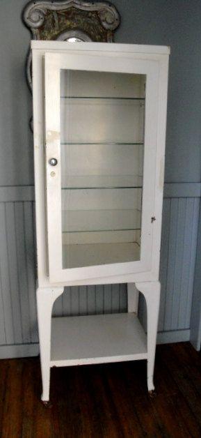 The Perfect Medicine Cabinet For Bathroom Would Be A Vintage Steel Medical Doctors By Plainandelegant 1200 00
