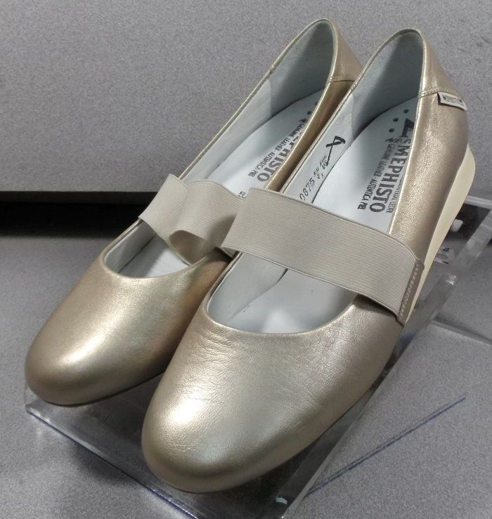 6975bac50ff0 MNP58182 GOLD LMPF60 Women s Shoes Size 8 (EUR 5.5) Leather Flats Mephisto   fashion  clothing  shoes  accessories  womensshoes  flats (ebay link)