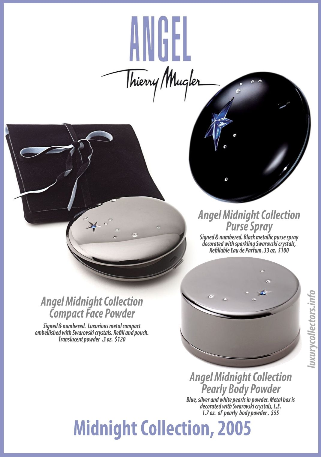 Thierry Mugler Angel Perfume Collectors Limited Edition Bottle 2005