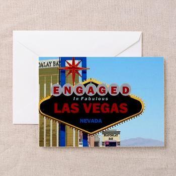 Engaged in las vegas card greeting card vegas engaged in las vegas card greeting card m4hsunfo