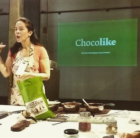 Curso de #chocolate, cata, y #diseño de la mano de Helen Lopez, y Paco Adín de @Supper