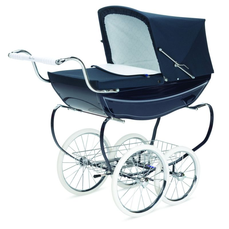 Silver Cross Doll Pram. Used to stand and gaze in Birss' window and wish that I had this. Wasn't to be until I had the full size one.